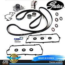 Fits Hyundai 2.7 Gates HTD Timing Belt Kit V-Belt Water Pump Valve Cover Gaskets