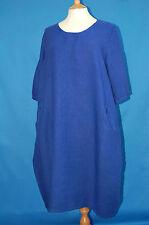 Full Length Linen 3/4 Sleeve Dresses for Women