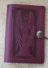 "Oberon Design Book Journal Cover 6"" x 9"" Beardsley's Standing Angel- Orchid"