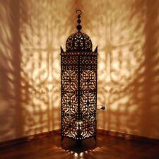 Marroquí Eisen-Laterne Árabes Lámpara Metall-Leuchte SAMA-XXL H160cm