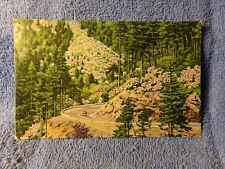 Vintage Postcard Newfound Gap Highway, The Great Smoky Mountain National Park