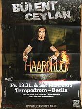 BÜLENT CEYLAN 2015 BERLIN  - orig.Concert Poster - Konzert Plakat  NEW