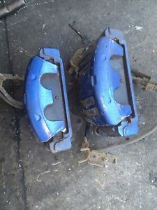 Chrysler 300C Front Brake Callipers & Carriers 3.0 Crd Pair Blue