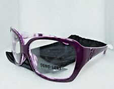 NEW OAKLEY OO2029-02 UNFAITHFUL PURPLE TIGER WOMEN'S EYEGLASSES 59-15-126