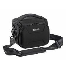 Kameratasche L Schultertasche mit Hartschalenfront und Regenschutz Foto Tasche