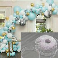 5M Balloon Chain Connector Tape Wedding Birthday Balloons Arch Holder Decor New