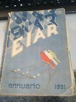 ANNUARIO EIAR 1931