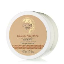 AVON PLANET SPA BLISSFULLY NOURISHING WITH AFRICAN SHEA BUTTER BODY BUTTER 6.7 F