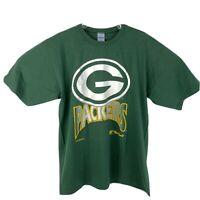 Vintage 1996 Green Bay Packers Mens Sz XL Green NFL Football The Game 90's Shirt