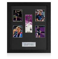 UNSIGNED London 2012 Olympics Ticket Frame: Men's Tennis Gold Medal Match