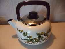 Villeroy & Boch Botanica Lysimachia Nummularia Floral Hot Water Tea Kettle Pot!