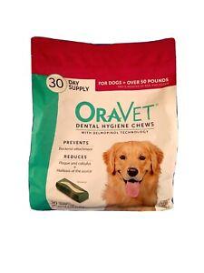 OraVet Dental Hygiene Chews for Dogs 30 Chews
