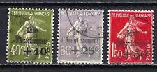 France 1931 caisse d'amortissement Yvert n° 275 à 277 oblitéré 1er choix (2)
