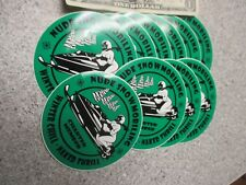 10 Qty NUDE SNOWMOBILING bumper stickers wholesale novelty snowmobile humor lot