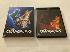 The Changeling (Blu-ray + CD, 1980) Severin, George C. Scott, with Slipcover