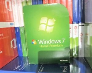 MICOSOFT WINDOWS 7 HOME PREMIUM 32 & 64-BIT (USED) DVD GFC-00025 100% GENUINE UK