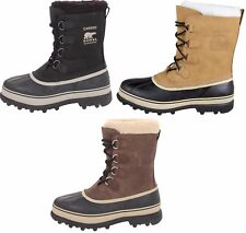 Sorel Caribou Womens Size 9 Black Snow BOOTS UK 8 EU 42