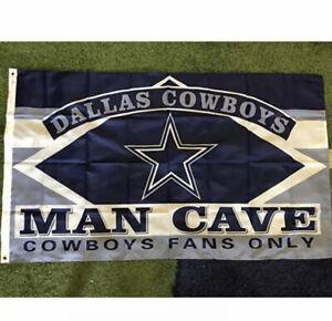 Dallas Cowboys Flag Banner 3x5 Ft NFL Football Super Bowl Sports Game Team