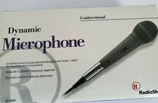 Dynamic Microphone Unidirectional Wide 80-15000hz Frequency Response, Grey