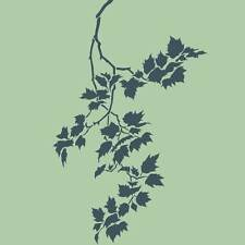 Sycamore Weeping Branch Craft Stencil - Size SMALL - By Cutting Edge Stencils