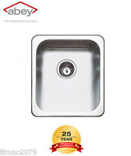 Abey The Hunter Top Mount Laundry Sinks 30 LITRE CAPACITY WITH BYPASS AL100A