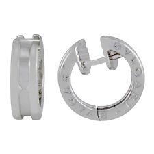 Bvlgari B.Zero1 White Gold Hoop Earrings 345582
