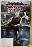 STAR TREK TNG MIRROR BROKEN FCBD Free Comic Book Day UNSTAMPED