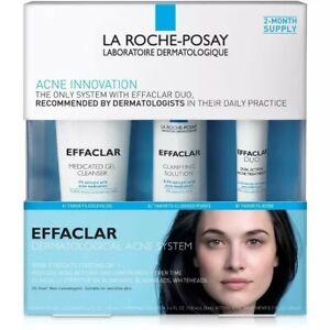 La Roche Posay Effaclar Dermatological 3-Step Acne Treatment System-7.5ozexp1/22