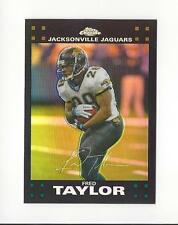 2007 Topps Chrome Refractor #TC14 Fred Taylor Jaguars
