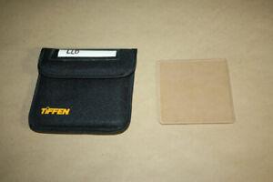 """TIFFEN 4"""" x 4"""" LL-D Filter mit Schutztasche, gebraucht"""