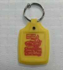 CHAMPION Car parts Key Ring Spark plug Challenge Yellow Red Collectible