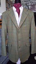 REDUCED excellent condition Bladen hacking green tweed jacket beautiful (42)