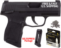 SIG SAUER P365 4.5 Cal BB Airgun W/ 2 Mags + Co2 Deal Full Blowback METAL SLIDE