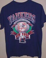 vintage 1992 New York Yankees baseball t shirt Medium
