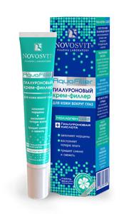 Hyaluronic Cream-Filler  for the skin around the eyes AquaFiller 30 ml