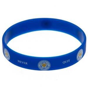 Leicester City FC Silicone Wristband (football club souvenirs memorabilia)