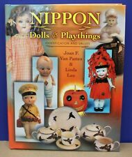 Book Nippon Dolls & Playthings Identification and Values Van Patten 2001 New