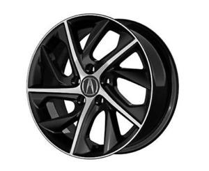 Acura genuine OEM 2019 - 2021 ILX 17inch TWO TONED ALLOY WHEEL 08W17-TX6-200C