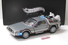 1:18 Elite DMC-12 DeLorean Back to the Future BCJ97 NEW bei PREMIUM-MODELCARS