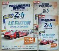 LE MANS 24 HOUR ENDURANCE CAR RACE June 2015 Official Programme + Extras