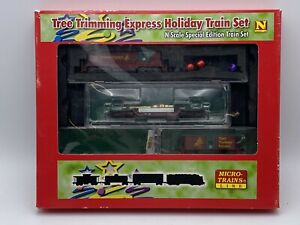 993 21 180 Tree Trimming Express Train Set Micro-Trains N Scale Incomplete 2012