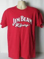 Jim Beam Racing Graphic Tee T-Shirt Robby Gordon Motorsports NASCAR Large