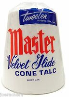New Masters Velvet Glide Cone Talc - Cone Chalk by Tweeten - Made in the USA!
