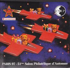 TIMBRE BLOC  C.N.E.P N° 25  SALON AUTOMNE 1997  NON DENTELE