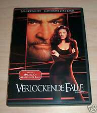 DVD Verlockende Falle Neu - Sean Connery - C.Zeta-Jones