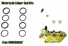 Ducati Monster 600 M600 1999 99 Brembo Goldline front brake caliper seal kit