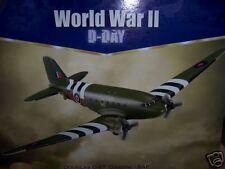 NOS CORGI DOUGLAS C47 DAKOTA RAF WWII D-DAY 1:144 NEW