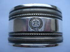 CWW1 VINTAGE PACIFIC STEAM NAVIGATION CAOMPANY SILVER PLATED NAPKIN RING