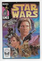 Star Wars #81 1984 Boba Fett The Sarlac Pitt Mandalorian Marvel Comics Key Issue