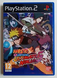 Naruto Shippuden Ultimate Ninja 5 Sony PlayStation 2 PS2 complet